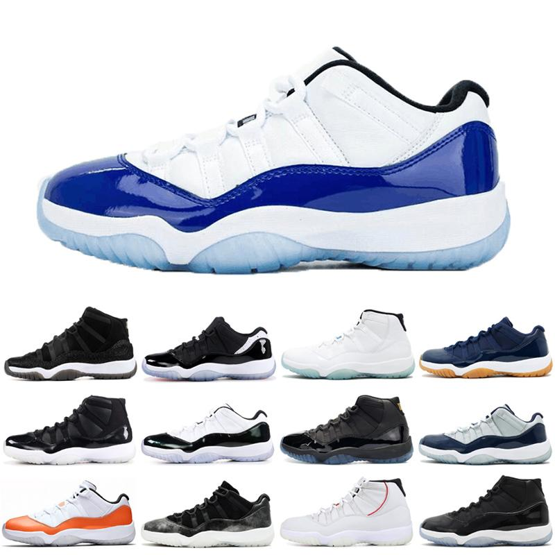 New arrival 11 11s Men Women Basketball Shoes 25TH ANNIVERSARY Cap and Gown Prom Night sports shoes trainers Sneakers 36-47