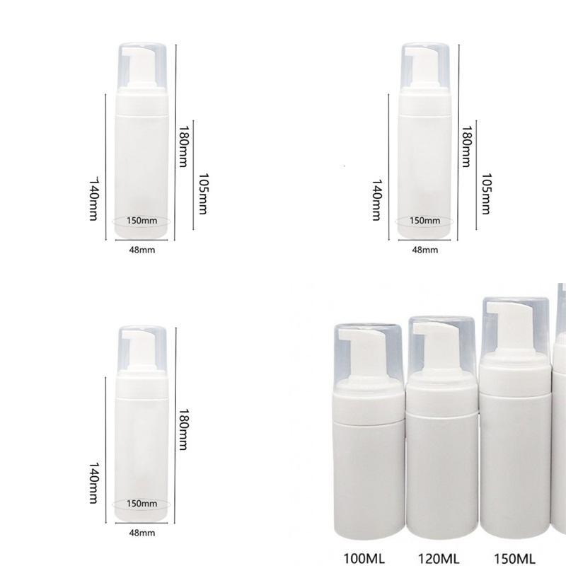 Séparés Mise en bouteille en plastique bouteilles Désinfectant pour les mains Cleansing Bouteille Crème Nettoyant Visage Mousse Livraison gratuite Ménage Mêle 1 7bf E2