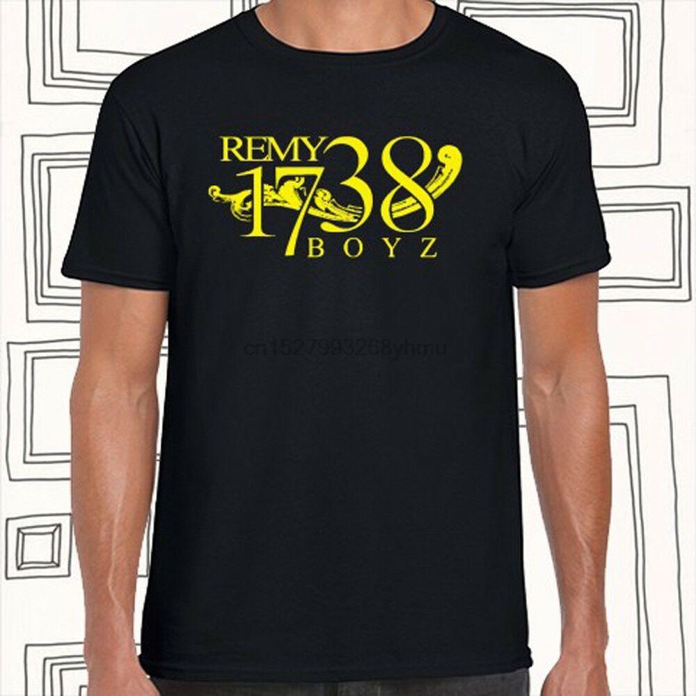 1738 Remy Boyz Fetty Wap Logo Hombres Negro Camiseta Tamaño S M L XL XXL XXXL