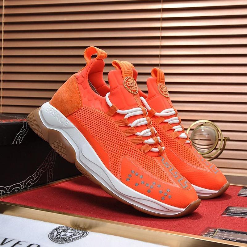 Luxe Hommes Chaussures confortables Chaussures Designer Vintage Zapatos De Lujo Para Hombre Cross Chainer Chaussures de sport Sport Taille Plus faible Top Chaussures Hommes