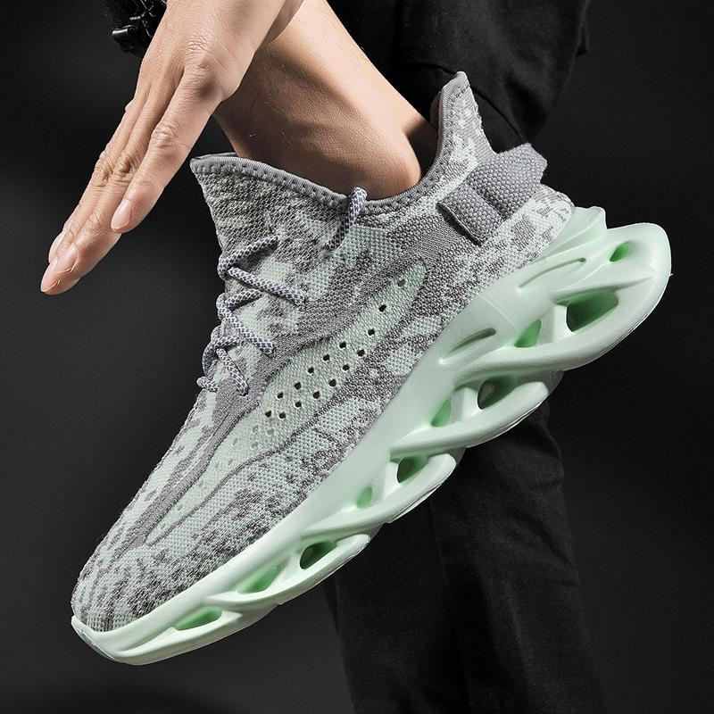 Fashion Mens Shoes Sneakers Casual Mesh