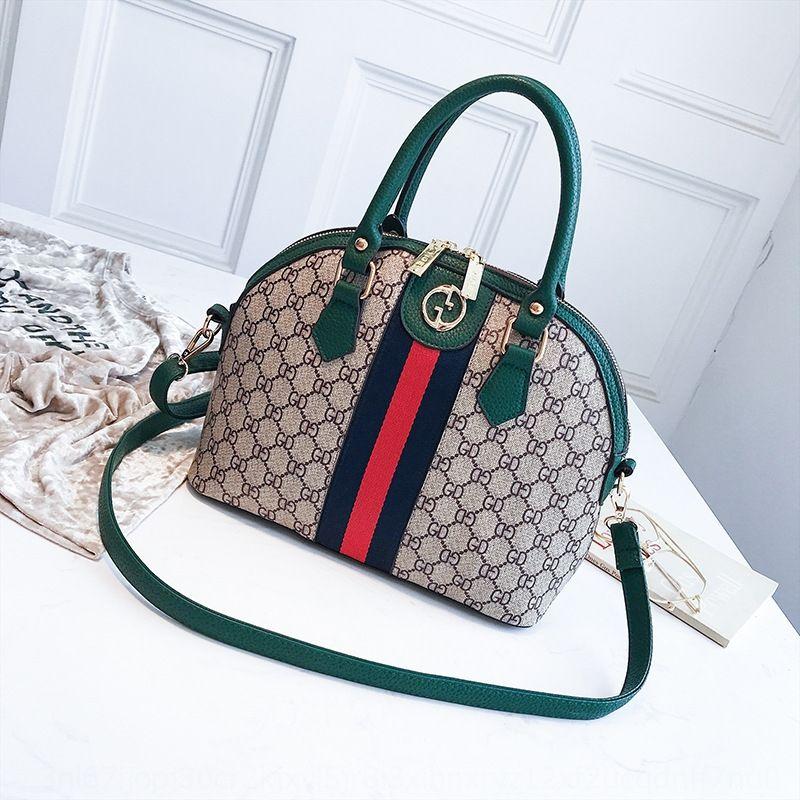 0iKyK New social Women's fashionable presbyopic shell briefcase large capacity portable shoulder slanting Social big bags & shoes bag big ba