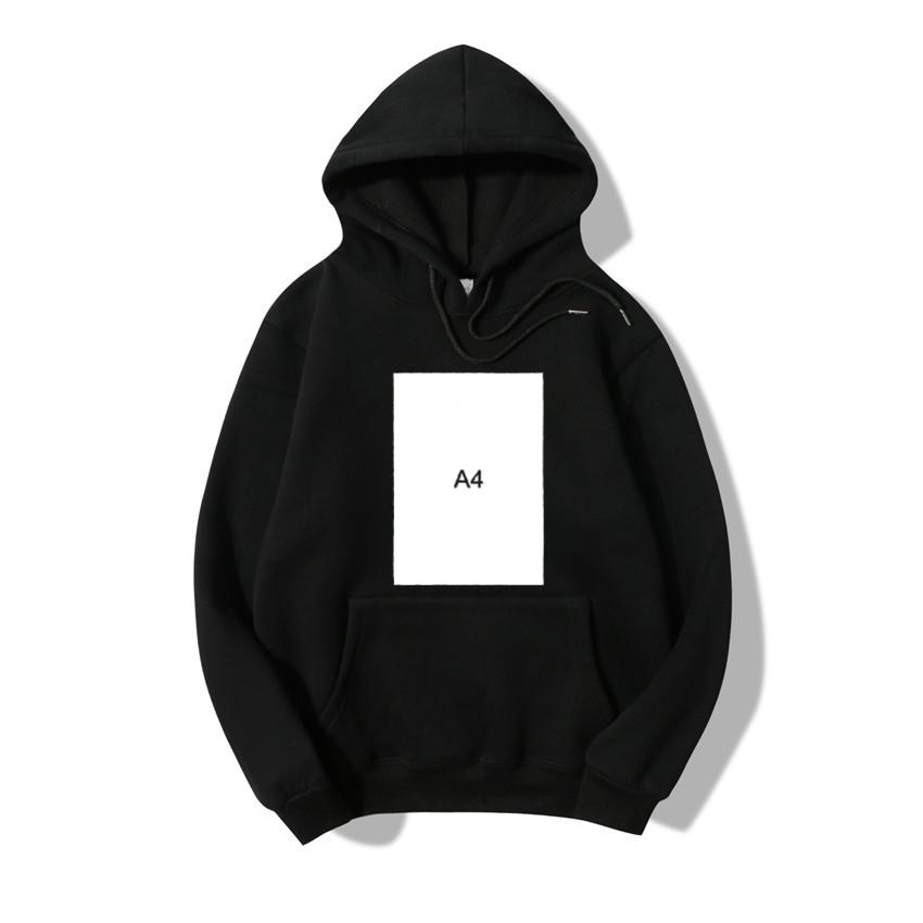 men's merch 4 hoodies autumn winter long sleeve hooded sweatshirts casual loose thicked pullovers a4 hoodies list black CX200723