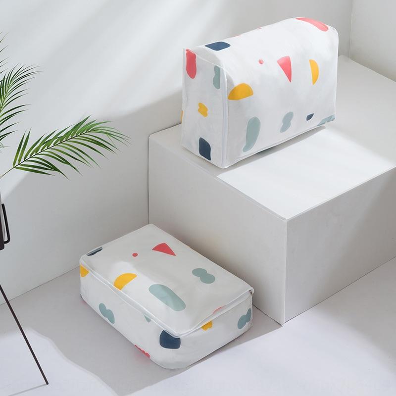 stockage de couette grande pour déplacer les vêtements Quilt emballage hydrofuges emballage d'emballage bagages sac d'emballage de sac à bagages