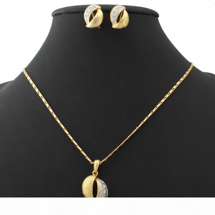 Joyas de varios Platinum nueva chapado en oro de moda Lover cadena Conjunto de ajuste de la serpiente collar de la joyería para las mujeres YS1101