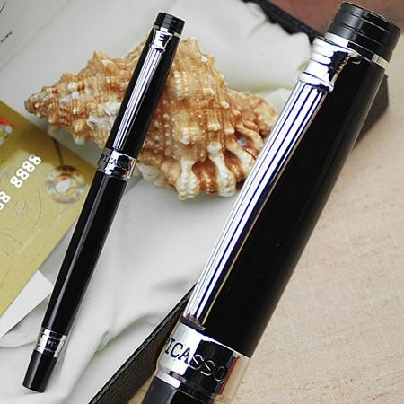 picasso 917 Lovers of the pen black M nib fountain pen roman holiday gift box commercial gift for man