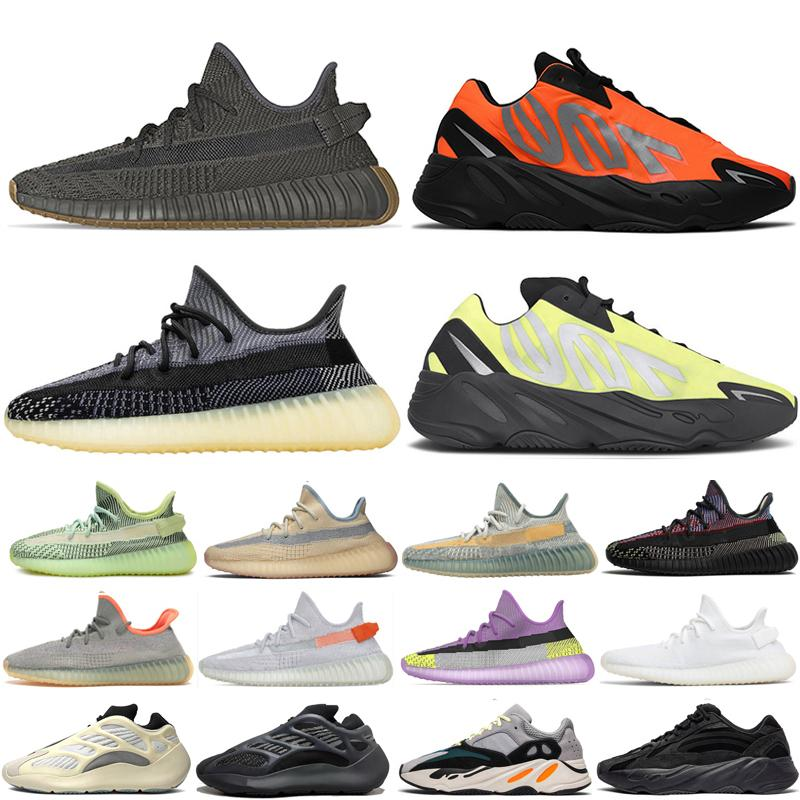 Cement Inertia Static Wave Runner Running Shoes For Mens Womens 700s Mauve sports sneakers 36-46