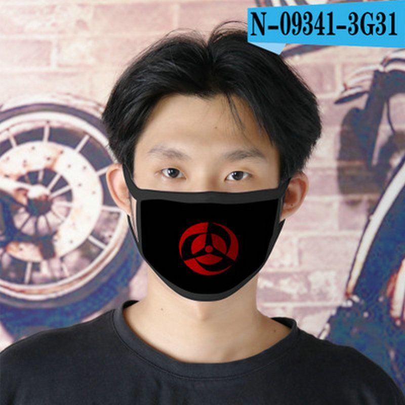 Sai Naruto cubrebocas diseñador de la máscara tapabocas reutilizable para rostro de dibujos animados niños Máscara 07 Sai Naruto hairclippersshop jHZzZ