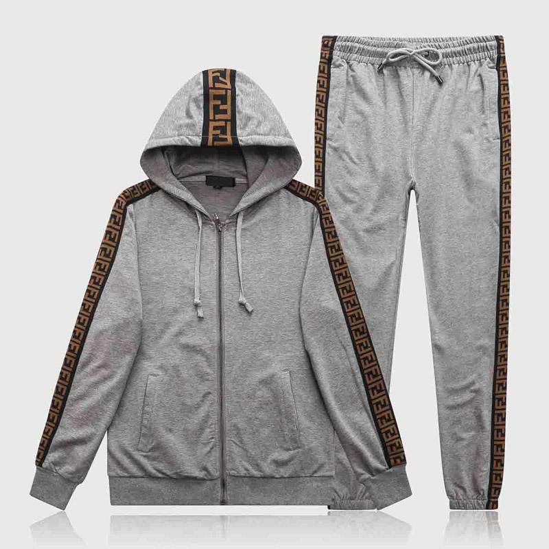 Vêtements de sport pour hommes Ensemble de luxe de sport à capuche Homme Veste Blousons sport Medusa homme Chemise Survêtement Veste Set M-3XL