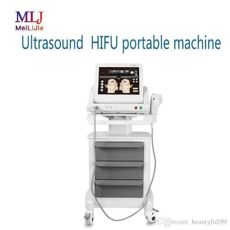 HIFU 기계 노화 방지 얼굴과 몸을위한 3 개 또는 5 카트리지 얼굴 리프팅 주름 제거 지방 감소 슬리밍 아름다움 기계를