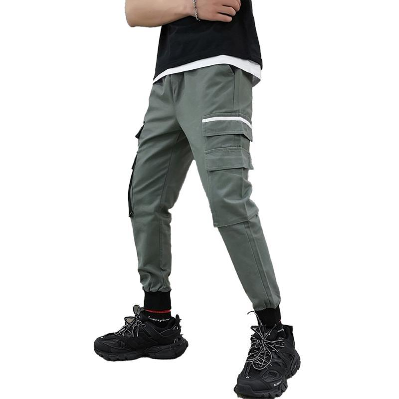 Cargo Pant Men Moda autunno inverno maschio casuale dei comodi pantaloni casual maschile Harem Homme Esecuzione Jogger Throusers Hot