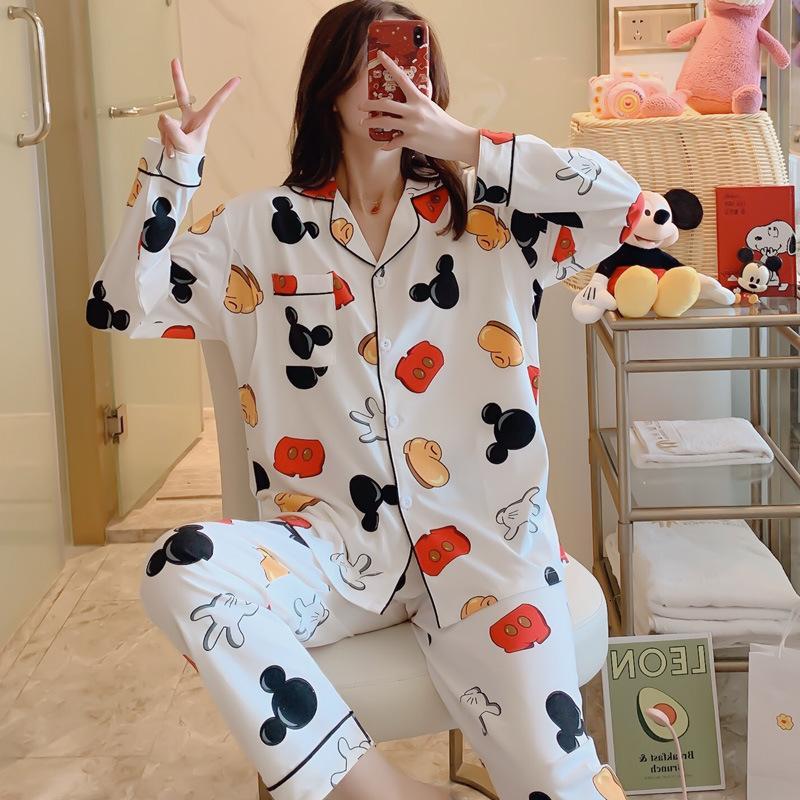 Algodón pijama traje de las mujeres embarazadas de primavera, otoño invierno posparto confinamiento lactancia ropa de hogar de ancianos