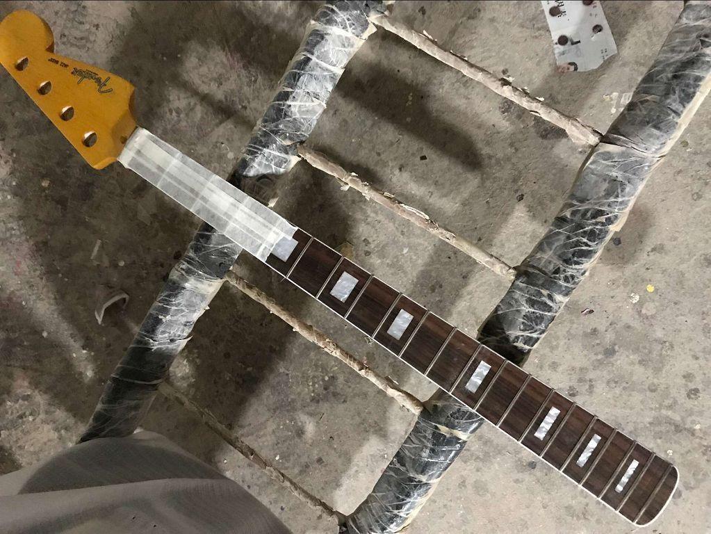 أعلى جودة 20 الحنق الجاز باس غيتار أجزاء الغيتار الرقبة الآلات الموسيقية الملحقات -17-11