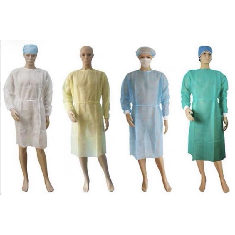 غير المنسوجة الملابس الواقية المتاح عزل أثواب الملابس البدل مكافحة الغبار في الهواء الطلق ملابس واقية المتاح معطف واق من المطر RRA3380