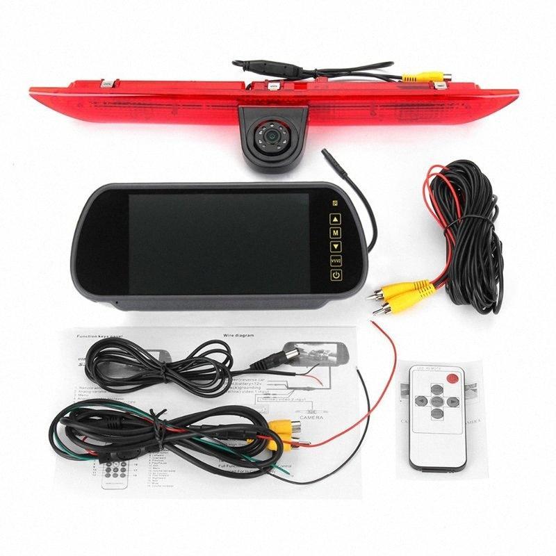 Transit Custom 2012-2015 Ters Kamera Yedekleme HD su geçirmez HFVY için # Araç Fren Işık Arka Görüş Kamerası