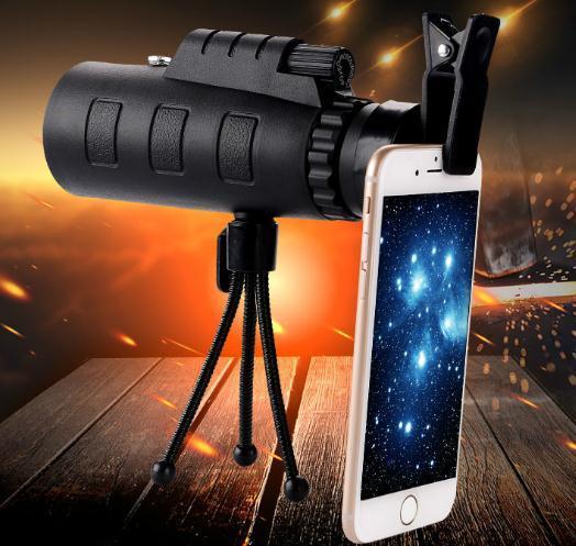 Monocular alta tecnologia de alta definição Nova 40X60 Duplo Ajuste exterior Visualizando Camera Telescope