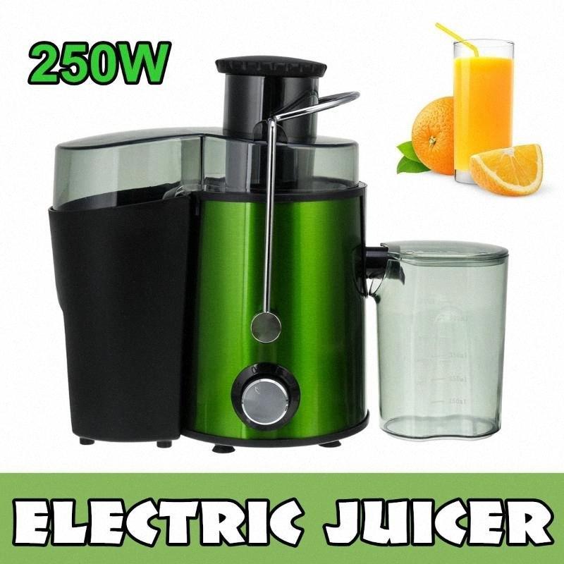 250W Multifunktions-Elektro-Saft Edelstahl Entsafter 2 Geschwindigkeit Frucht-Gemüse-Mixer Mixer Extractor Maschine für den Heim YLcE #