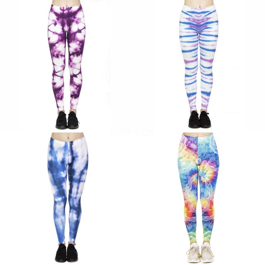Women Leggings Yoga Pants Fitness Elastic Pencil Pants Skull Print Stretch Skinny Legging Casual Jogging Pants Sexy Slim Leggings YFA325#747
