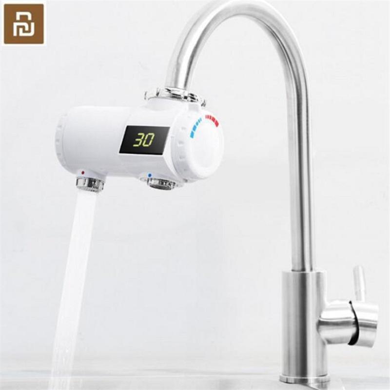 XIAOMI Youpin originale Xiaoda riscaldatore di acqua del rubinetto rubinetto della cucina del riscaldatore di acqua istantaneo doccia Immediata riscaldatori Tankless riscaldamento Tap