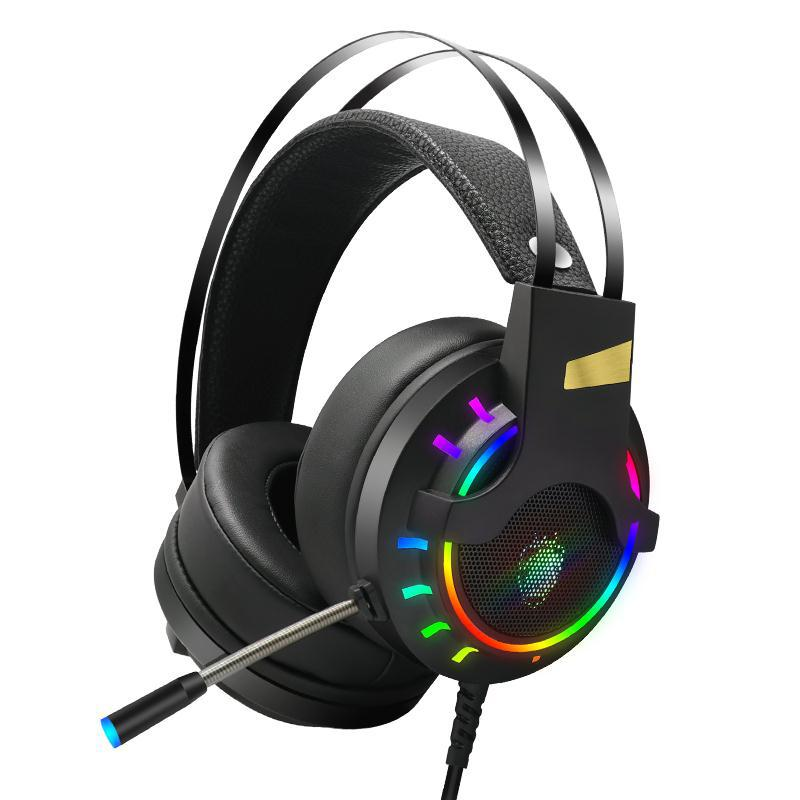PS4 Gaming Wired Headphone With Microphone 7.1 Channel For PC Laptop XBOX With Noisy Cancelling Stereo Waterproof Headset