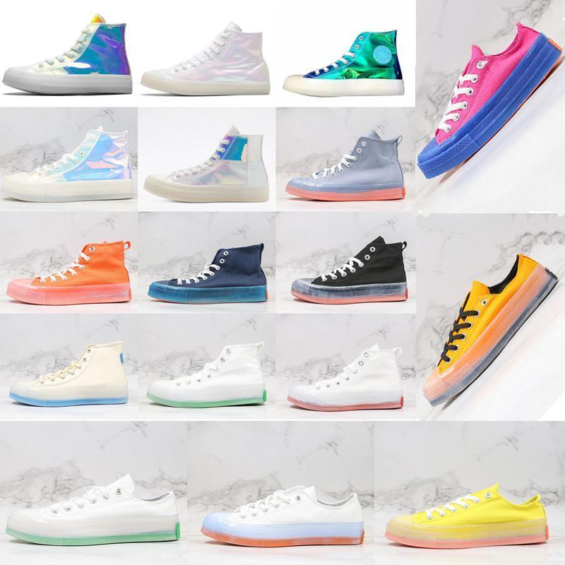 70 de qualité Hight marché des années 1970 Chinatown chaussures en toile 70 gelée Taylor chaussures de sport de planche à roulettes occasionnels entraîneurs sportifs taille 36-44 Jelly sole o6LF n