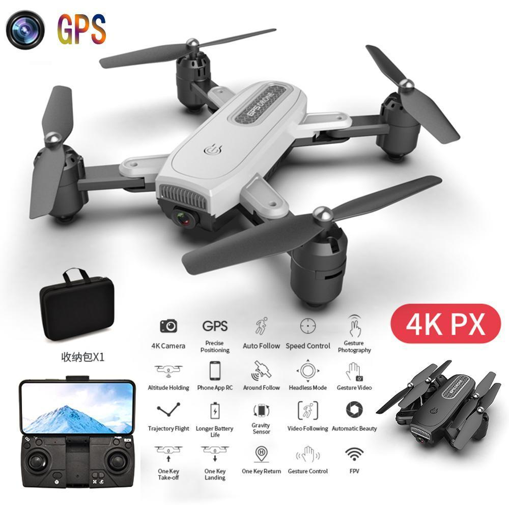 ZD8 RC Drone One Key Return GPS Shockproof Adjustment Wide Angle Folding WIFI With Camera 4K 1080P Professional Quadcopter Kit