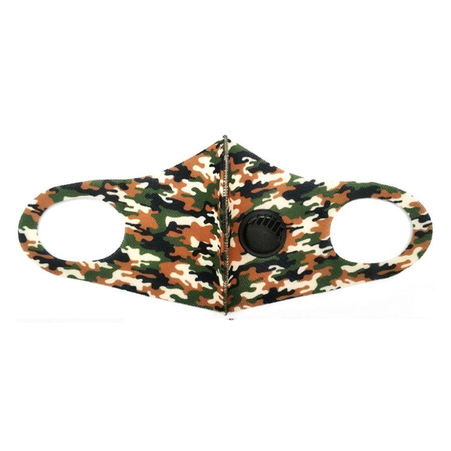 Máscara Facial Designer Impresso Preto Moda substituível filtro reutilizável lavável à prova de poeira rosto Máscara Máscaras respirável Ciclismo ## 185 # 541