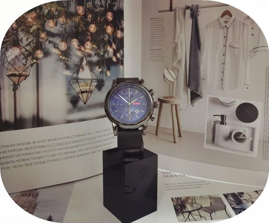 Top Markendesigner Luxus Uhr der Männer klassische Edelstahlgewebe Gürtel exquisite rundes Zifferblatt Freizeitgeschäft Herren-Uhr