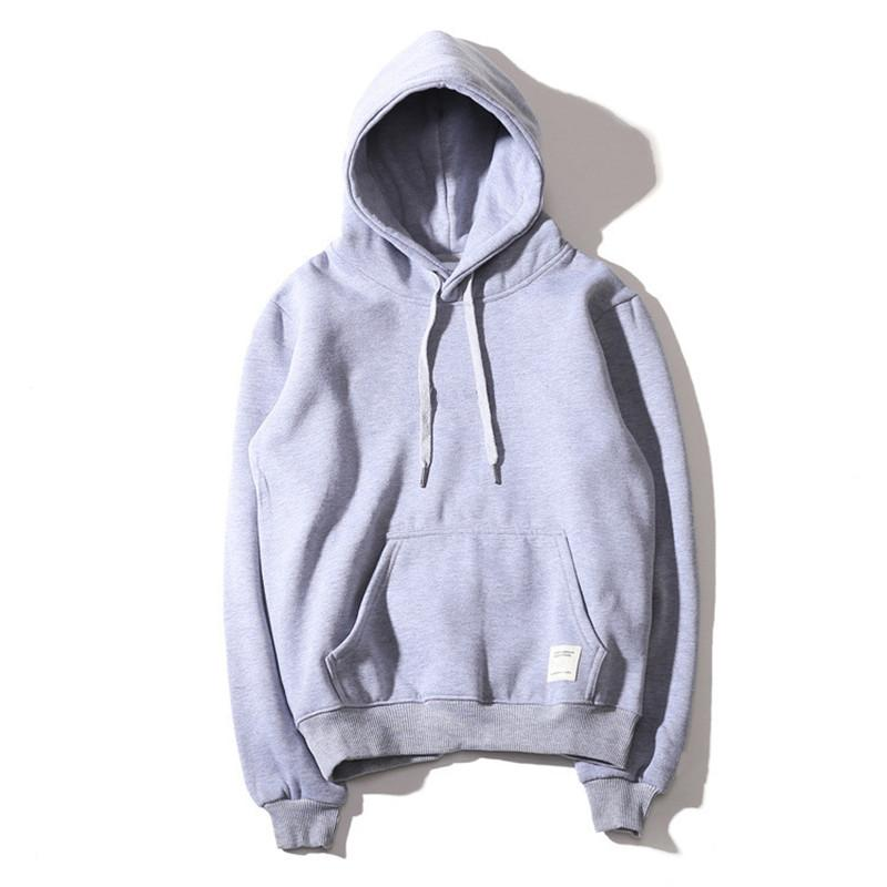 Fashion Hoodie Men Women Sport Sweatshirt Size S-XXL 9 Color Cotton Blend Thick Fashion Hoodies Pullover Long Sleeve Streetwear