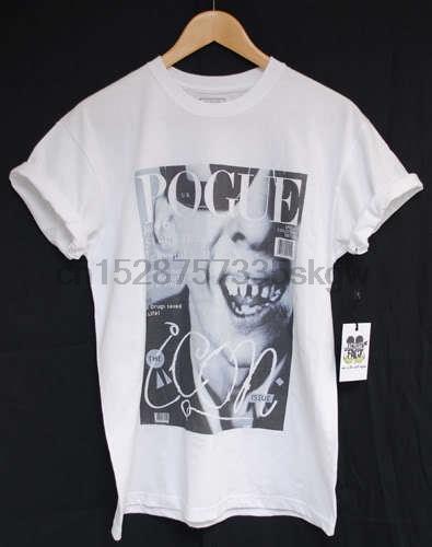 ACTUAL Pogues FAIT Shane MacGowan T T-SHIRT 100% coton à manches courtes O col Hauts T-shirts pour hommes T-shirts Mode 2018
