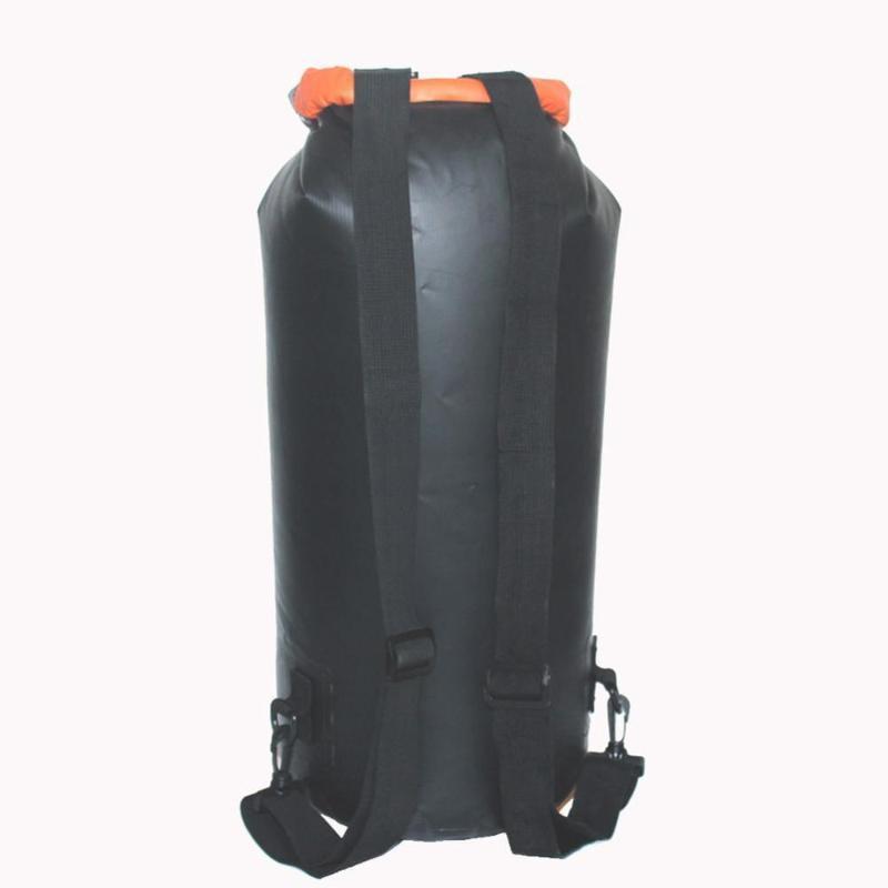 Rafting Sac étanche imperméable en eau vive portable plongée Sac à sec Sac PVC Natation Sacs River Trekking