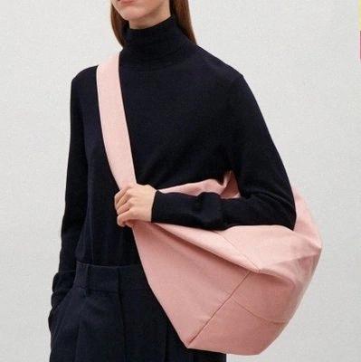 naylon branda kadın çanta kısa su geçirmez oxford kumaş rahat omuz çanta büyük çanta Büyük kapasiteli seyahat alışveriş çantası br5Y #