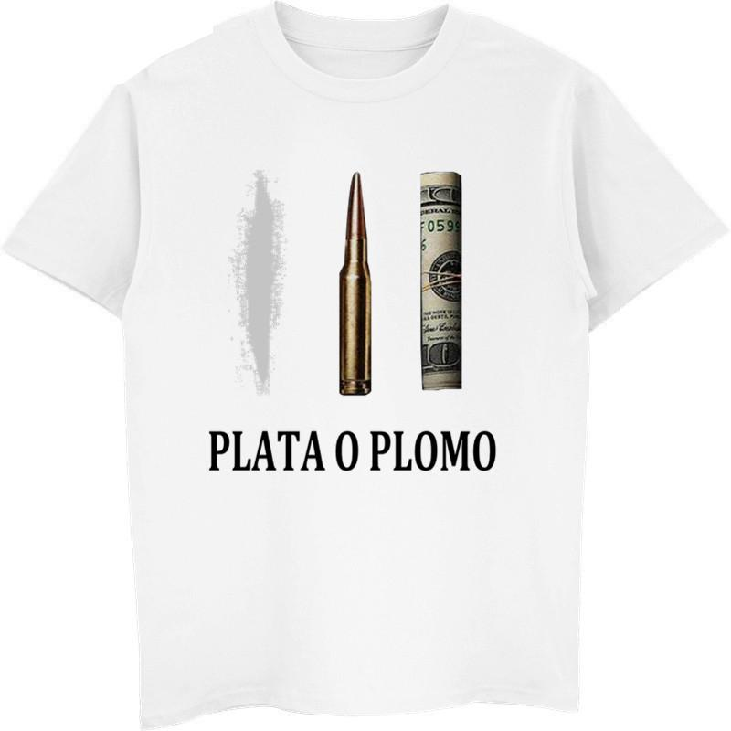 Trendy New Brand T Shirts Men Narcos Pablo Escobar T-Shirt Male Classic Shirts Summer Tees Tops Short Sleeves Hiphop Tops Letter