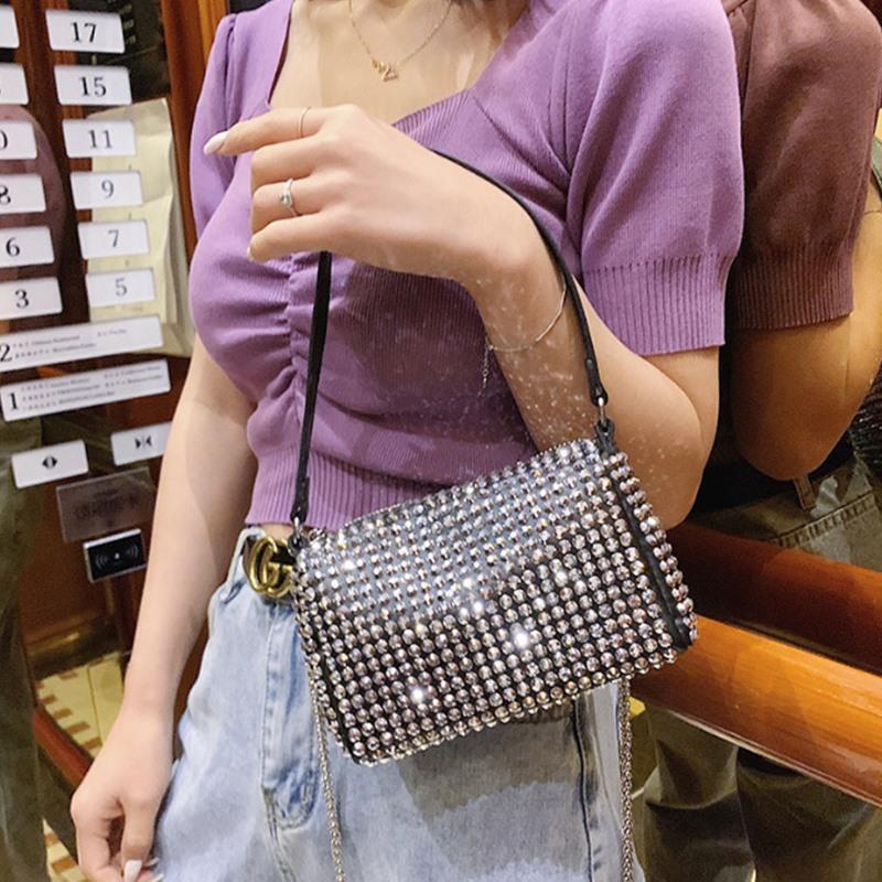 Fantasia dot moda all-jogo senhoras saco saco do mensageiro carteira jantar festa de um ombro
