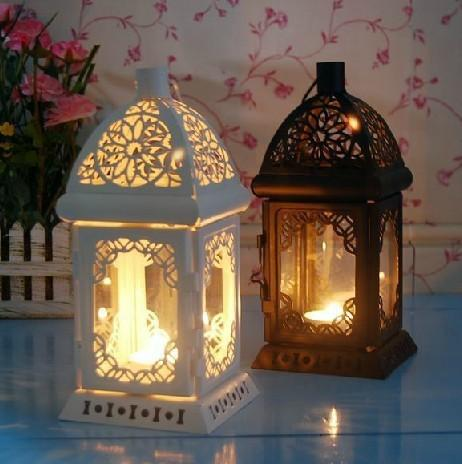 Free shipping quality weddings lantern wedding candle holders candle holder candelabra candlestick white and black colors 2181