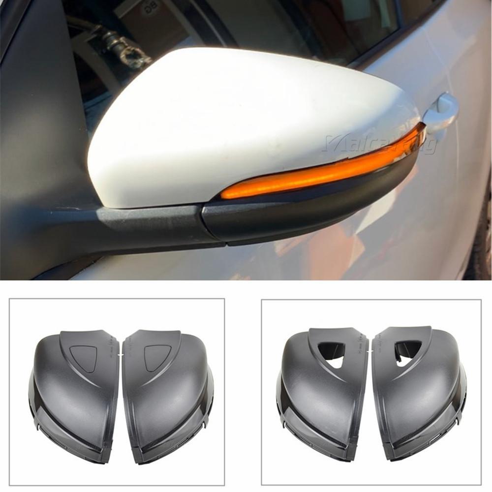 폭스 VW GOLF 6 VI MK6 GTI R 라인 R20 투란 동적 블 들어 LED 지시등 사이드 미러 순차 표시를 돌려