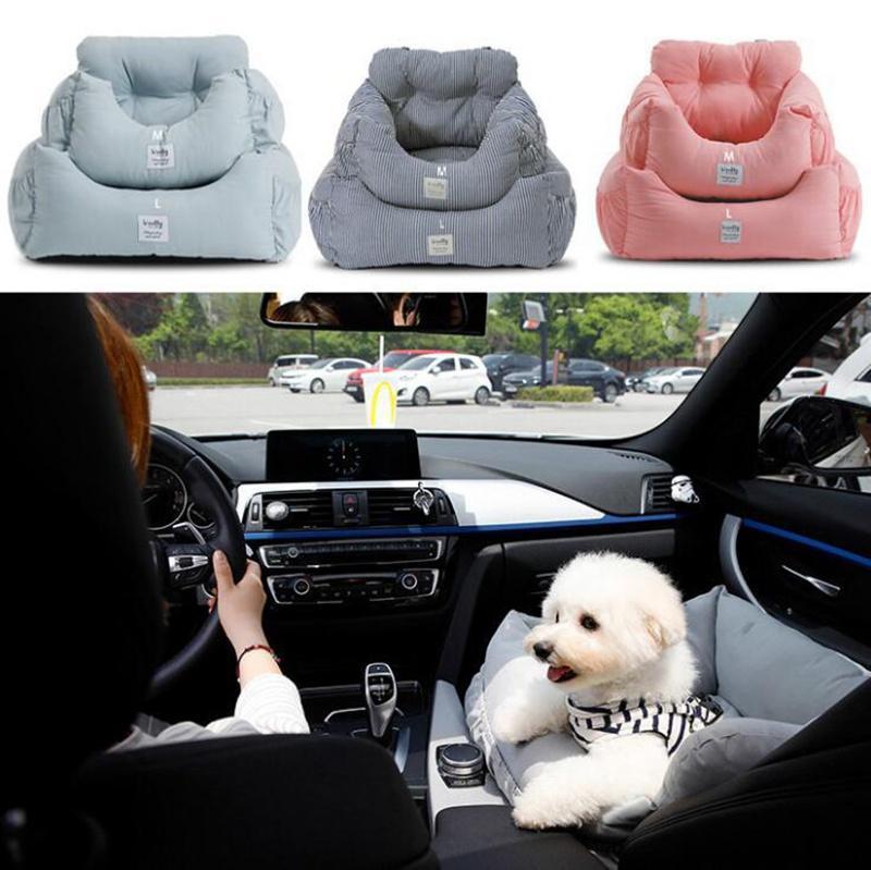 Cubiertas de asiento de coche para perros Ahuapet Fashion Travel Carriers Cubierta de mascota Portador Bolsa Sofá Sofá Caja fuerte Viajar
