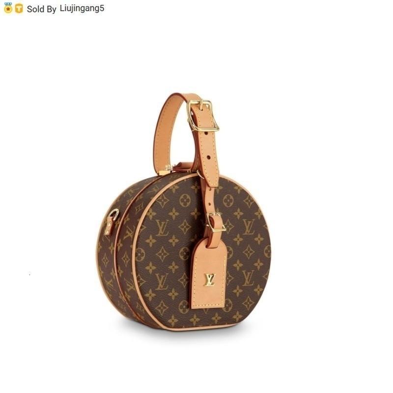 Liujingang5 43514 Ausgabe Petite Boite Chapeau Handtasche M4314 Totes Handtaschen Schulter-Rucksäcke Wallets Purse