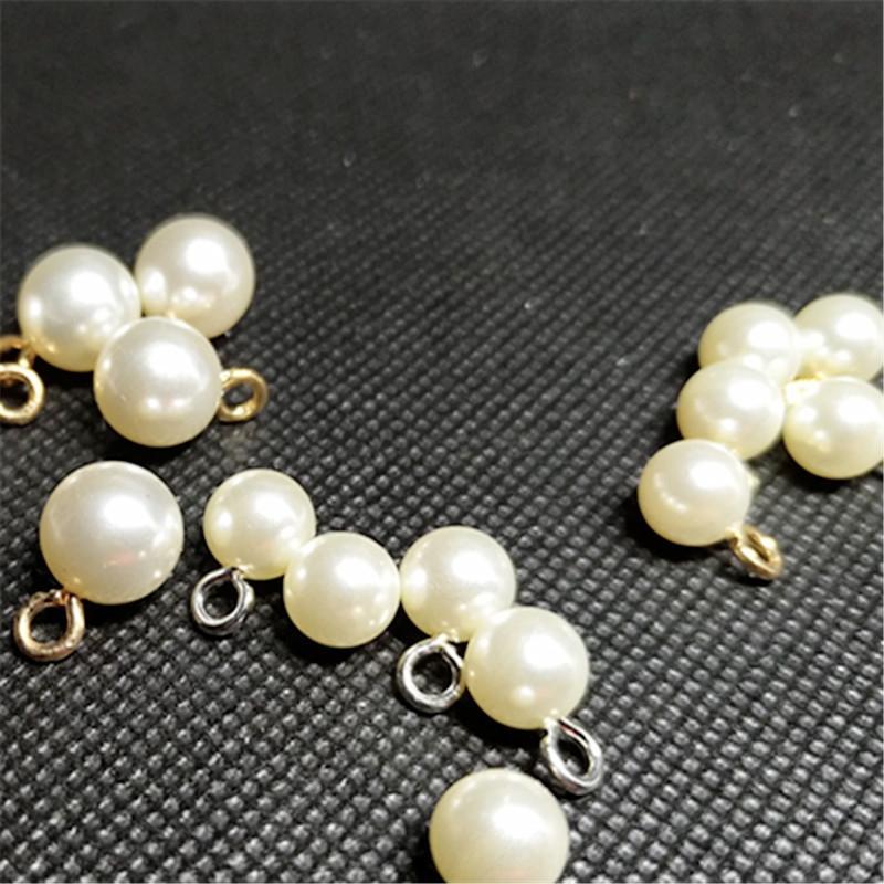 ABS pérola do diamante gota de água brinco pingente de pérola pingente DIY acessórios de cabelo acessórios de vestuário