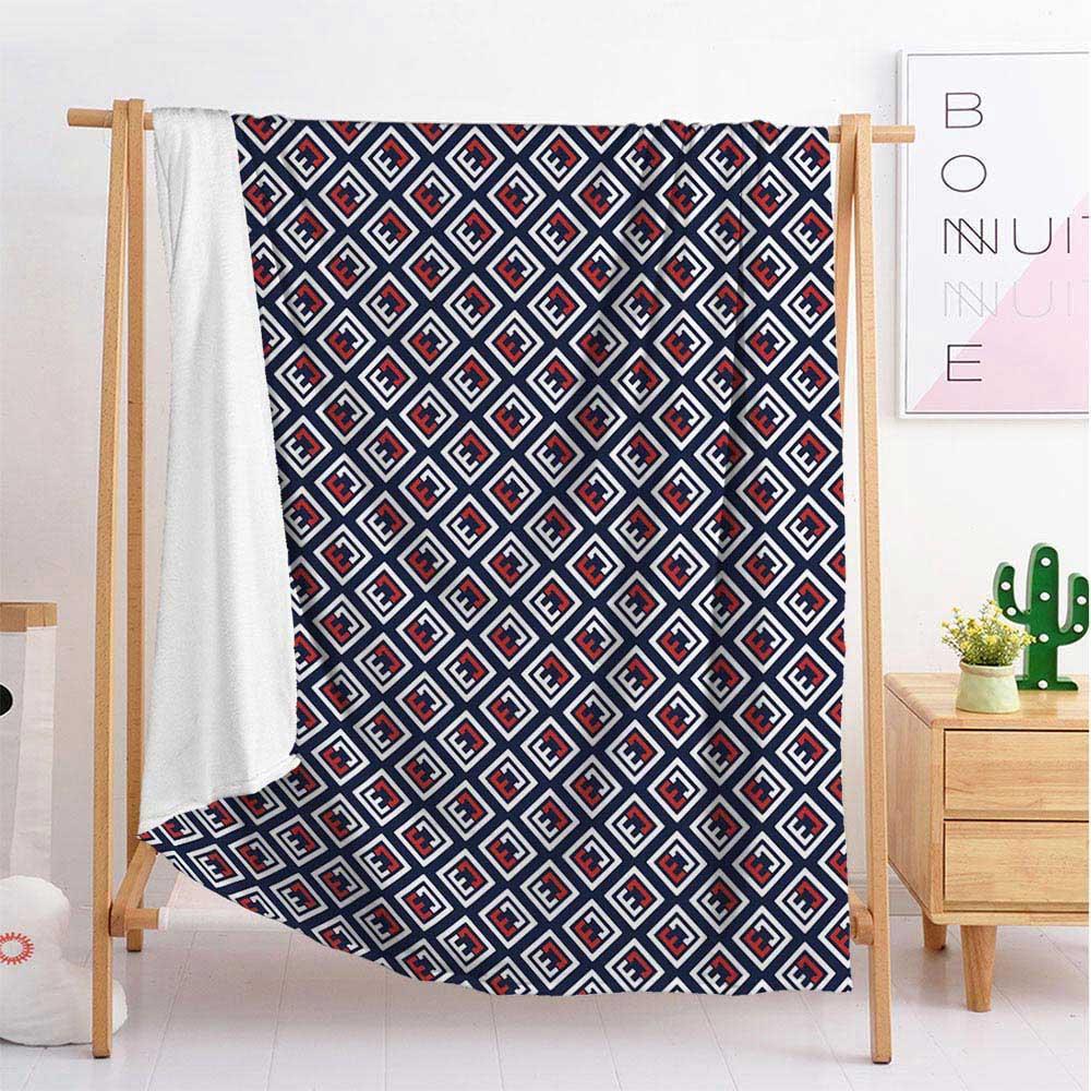 Luxe lettres de mode couverture de flanelle couverture couverture de couchage Voyage Canapé-lit simple double grande literie