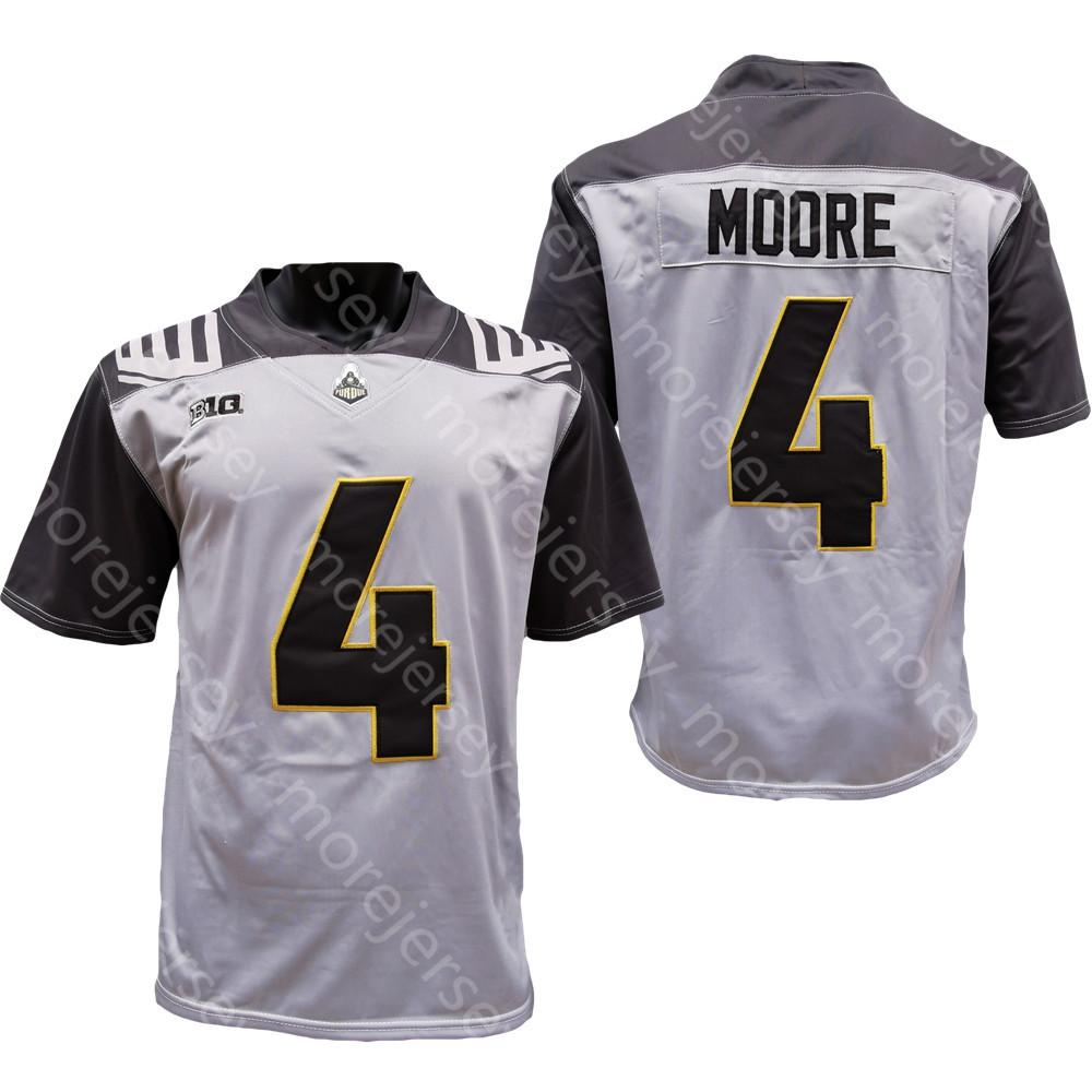 2021 2020 NCAA New Purdue Boilermakers Football Jersey College 4 ...