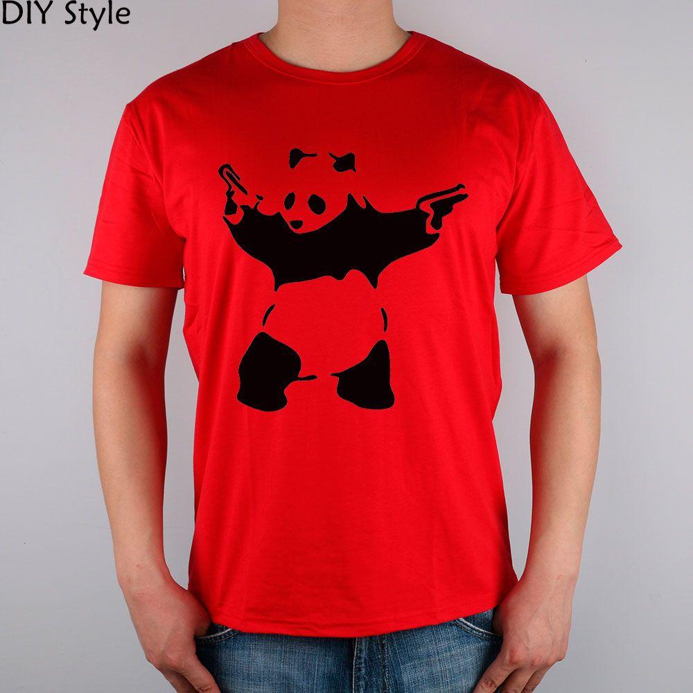 GRAFFITI BANKSY T-shirt en coton lycra hommes haut t shirt mode Marque nouvelle de haute qualité
