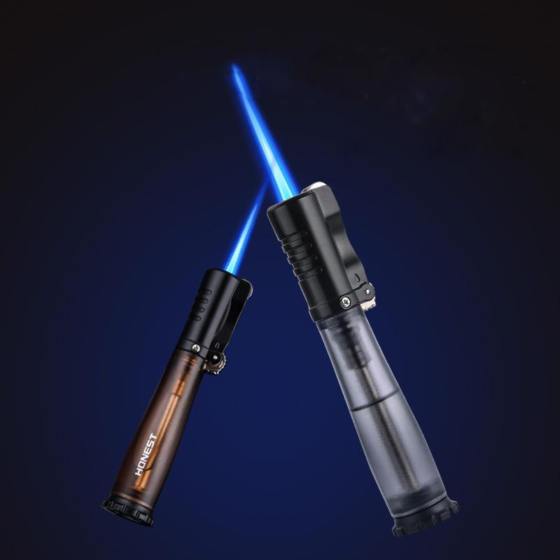 2020 Le nouveau briquet turbo de la torche pour le pistolet de pulvérisateur de gaz de cigache de gaz de cigare, briquet électronique, briquets de cigarettes de cigarettes de cigarettes au tabagisme