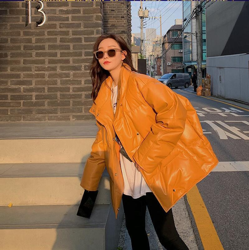 Women sexy wool Coat fashion Ladies Model street padded coat quality dress Thicken Warm velvet winte Jacket Long down jacket