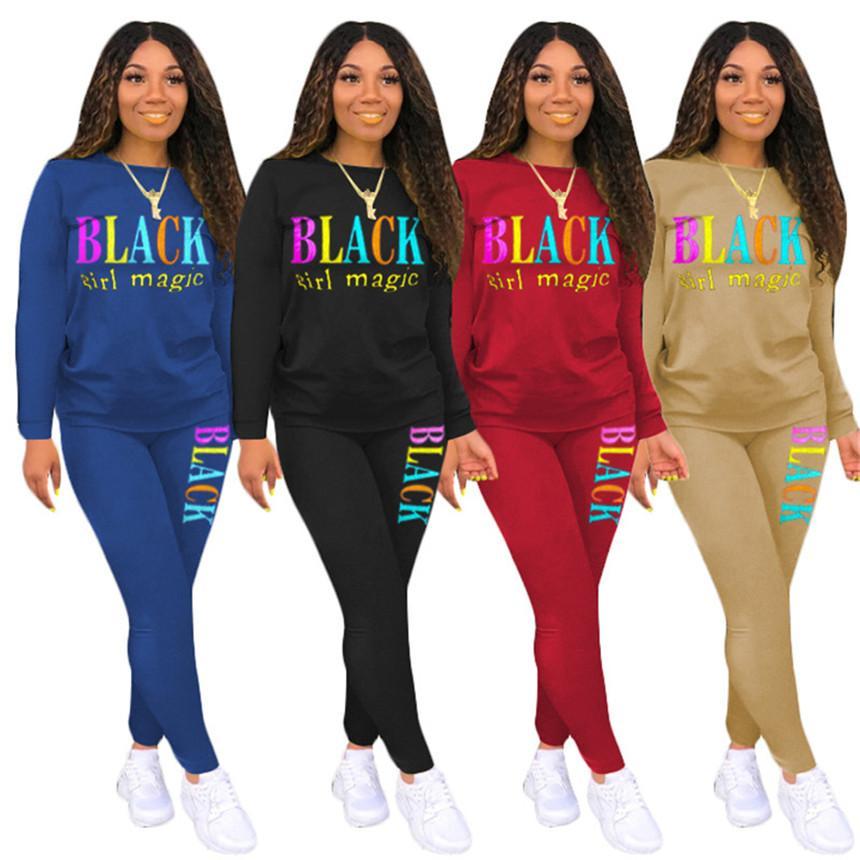 Frauen Legging Anzug Hoodies 2 Stück Sets Casual Trainingsanzug Sport Langarm Hemd + Skinny Hosen Fall Winter Kleidung Slim Jogger Anzug 3563