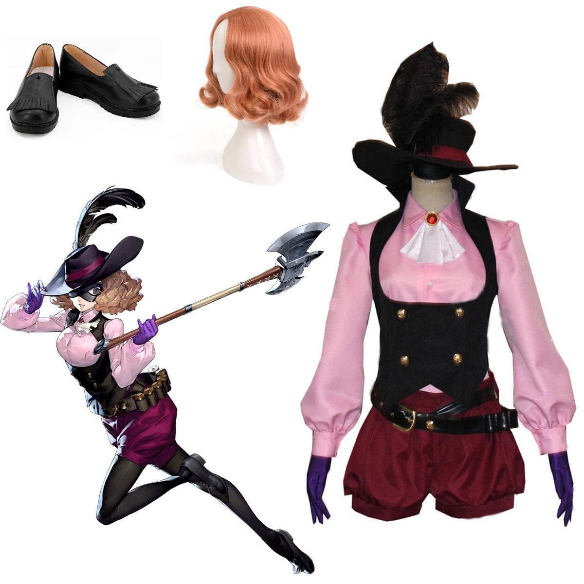 For The Persona 5 Costume Cosplay Haru Okumura Costume Outfit Adult Men Women Girls Personalized Size
