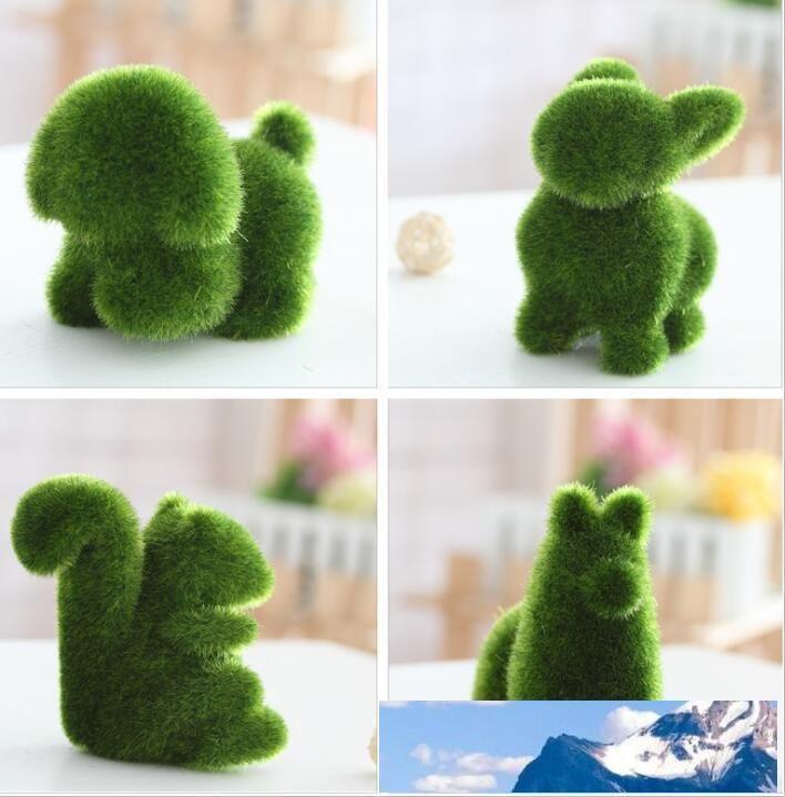 Grassland herbe artificielle petit écran ours joli Cute animal décoration fatigue oculaire Soulager articles d'ameublement herbe faux DT001