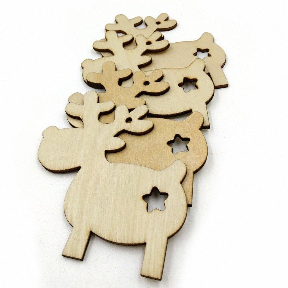 Bırak Süsler Yılbaşı Dekoru Epgu # Asma Ev Partisi Geyik Noel Ağacı için Dekorasyon Asma 10 Adet ren geyiği Şekli Noel