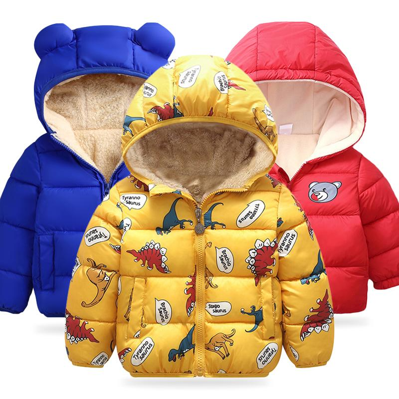 Baby Girls Jacket 2020 Autumn Winter Jacket For Girls Coat Kids Warm Hooded Outerwear Coat For Boys Jacket Coat Children Clothes CX200729