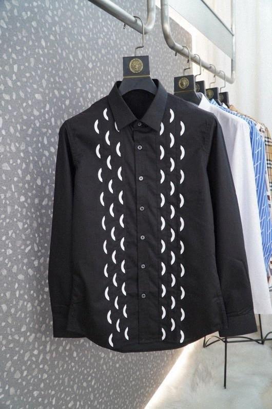 A600119 Moda Erkek Gömlek 2020 Pist Avrupa Tasarım parti tarzı Erkek Giyim nAcX #